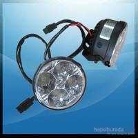 High Power Led Yuvarlak Sis Gündüz Lambası 70mm