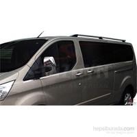 S-Dizayn Ford Tourneo Custom 2012> Model Ve Üzeri Cam Alt Çıtası 8 Prç. Krom P.Çelik U.Ş.