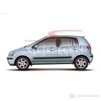 S-Dizayn Hyundai Getz Cam Çıtası 6 Prç. P.Çelik (2002>)