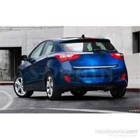 S-Dizayn Hyundai I-30 2011> Model Ve Üzeri Bagaj Alt Çıta Krom P.Çelik
