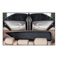 Renault Kango Privilege 2008 Sonrası Lüks Takmatik Perde (Otomatik Cam, 5 Parça)