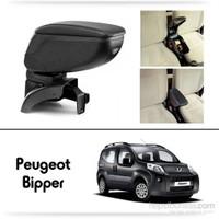 Schwer Peugeot Bipper Koltuk Arası SİYAH Kol Dayama Kolçağı-8442
