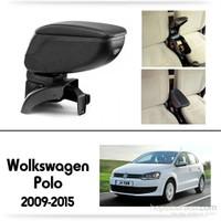 Schwer Volkwagen Polo 2009-2015 Koltuk Arası SİYAH Kol Dayama Kolçağı-8454