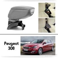 Schwer Peugeot 308 Koltuk Arası GRİ Kol Dayama Kolçağı-8489