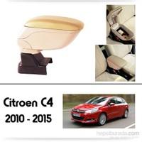 Schwer Citroen C4 2010-2015 Koltuk Arası BEJ Kol Dayama Kolçağı-8506