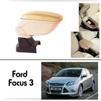 Schwer Ford Focus 3 Koltuk Arası BEJ Kol Dayama Kolçağı-8517