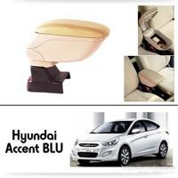 Schwer Hyundai Accent BLUE Koltuk Arası BEJ Kol Dayama Kolçağı-8520