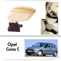 Schwer Opel Corsa C Koltuk Arası BEJ Kol Dayama Kolçağı-8531