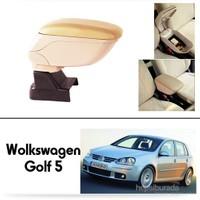 Schwer Volkwagen Golf 5 Koltuk Arası BEJ Kol Dayama Kolçağı-8548