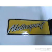 Speed Motorsport Sticker 13x2cm Gri