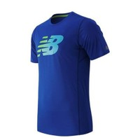 New Balance Mt53066-Pc Nb Accelerate Ss Printed Erkek T-Shirt