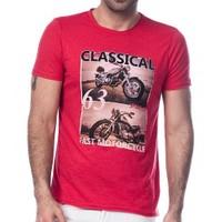 Scorp Cl-9000 Classical63 Kırmızı Baskılı Erkek Tişört