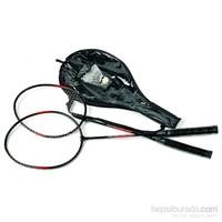 Sportica SDB 53 Badminton Raket seti 2 Raket +2 Top