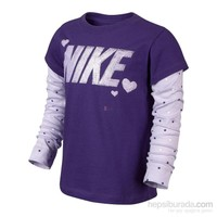 Nike 575529-678 2 İn 1 Ls Top Gfx Lk Çocuk T-Shirt