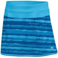 Wilson Cardiff Wavy Print Girl's Tennis Skirt Kız Jr Tenis Kıyafeti