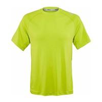 Wilson Spring Embossed Crew S/Lime Erkek Tenis Kıyafeti