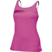 Wilson Colorflight Strappy Tank Pink Kadın Tenis Kıyafeti