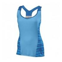 Wilson Tank Women Cardiff White/Blue Kadın Tenis Kıyafeti