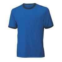 Wilson Cardiff Ringer Crew New/Blue Erkek Tenis Kıyafeti