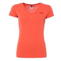 North Face T0a3h6 W S/S Simple Dome Tee Kadın Günlük T-Shirt T0a3h6eek
