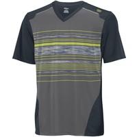 Wilson Su Specialist Stripe V Neck Graphıte Erkek Tenis Kıyafeti
