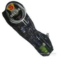 Selex Thunder Çiftli Çelik Badminton Seti