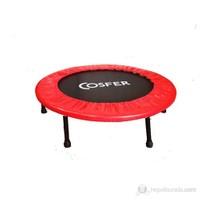 """Cosfer Ultra-Deluxe Trampolin ( 92 CM ) 36"""" Kırmızı"""
