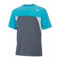 Wilson Pure Battle Crew Grey/Oceana Erkek Tenis Kıyafeti