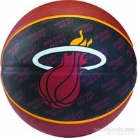 Spalding Basketbol Topu NBA Team Heat N:7 Rbr Bb (73-939Z)