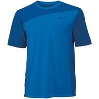 Wilson Colorblock Crew New/Blue Erkek Tenis Kıyafeti
