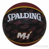 Spalding Miami Heat Kauçuk 7 No Basketbol Topu