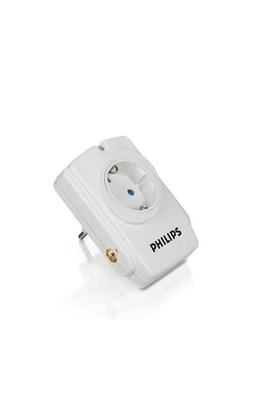 Philips SPN3110C 1'li 900Jules/36,000mAh Duvar Tipi Yüksek Akım Korumalı Priz
