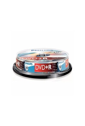 Philips DVD(+R) 4,7GB 16X 10'lu Cakebox