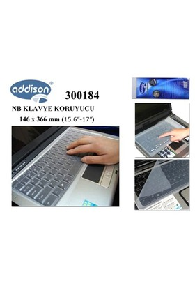 Addison 300184 15.6`-17` Notebook Klavye Koru