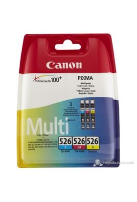 Canon CLI-526 3'lü Set (Mavi - Sarı - Kırmızı) Mürekkep Kartuş