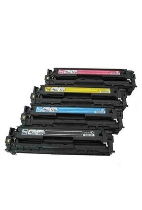 Kripto Hp Color Laserjet Pro Cp1515n Sarı Renkli Toner Muadil Yazıcı Kartuş