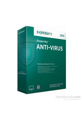 Kaspersky Antivirüs 2015 Türkçe 2 Kullanıcı 1 Yıl