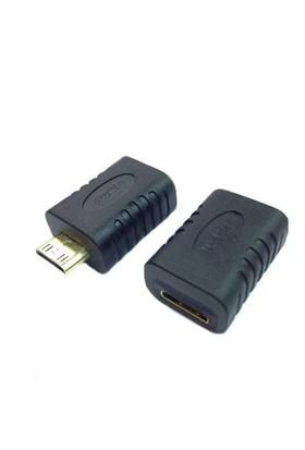 Ti-Mesh Mini Hdmı Male To Mini Hdmı Female Type C Extension Converter Adapter