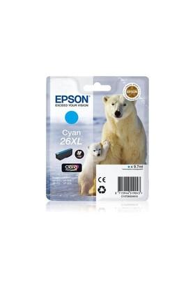 Epson C13t26324020 Cyan-26Xl-Exprss Prm Xp-600, Xp-700,Xp-800 9,