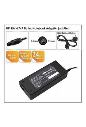 Hp 19V 4,74A Bullet Notebook Adaptör Şarj Aleti