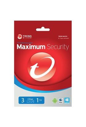 Trend Micro Maximum Security 3 Kullanıcı 1 Yıl (TI00239873D)
