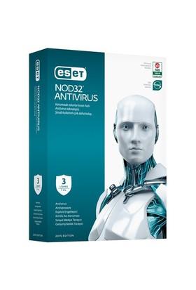 Eset NOD32 Antivirüs V,8.0 3 Kullanıcı 1 Yıl