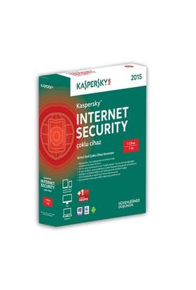 Kaspersky Internet Security 2014 2 Kullanıcı 1 Yıl DVD Kutu