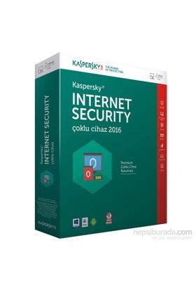 Kaspersky Internet Security Çoklu Cihaz 2016 2 Kullanıcı 1 Yıl