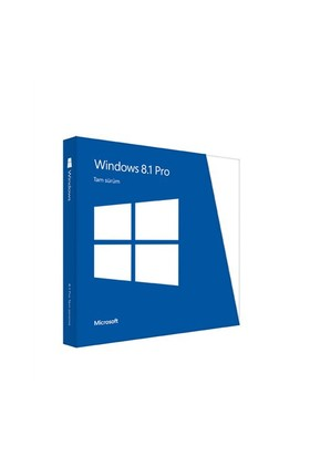 Microsoft Windows 8.1 Pro 32/64-Bit TR Kutu (FQC-07358)
