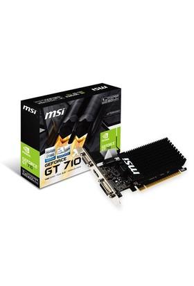 MSI NVIDIA GeForce GT 710 1GD3H LP 1GB 64 bit DDR3 DX(12) PCI-E 3.0 Ekran Kartı (GT 710 1GD3H LP)