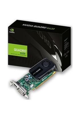 PNY Nvidia Quadro K420 1GB 128Bit DDR3 (DX11) PCI-E 2.0 Ekran Kartı (VCQK420-PB)