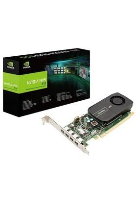 PNY Nvidia GeForce NVS 510 DVI 2GB 128Bit DDR3 (DX11) PCI-E 2.0 Ekran Kartı (VCNVS510DVI-PB)