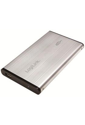 "Logilink UA0040A USB2.0 Alüminyum 2.5"" IDE HDD Kutusu (Gümüş)"
