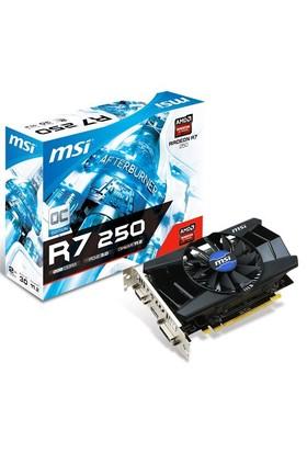 MSI Amd Radeon R7 250 2GB 128Bit DDR3 (DX11.2) PCI-E 3.0 Ekran Kartı (R7 250 2GD3 OC)